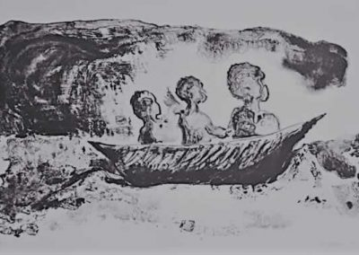 1. Hannah Parker, At Sea, Lithograph, 2009sm