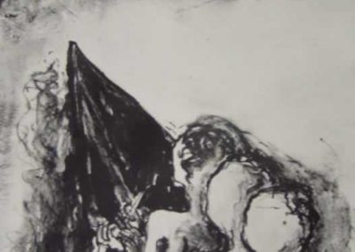 2. Hannah Parker, Heading Out, Lithograph, 2009sm