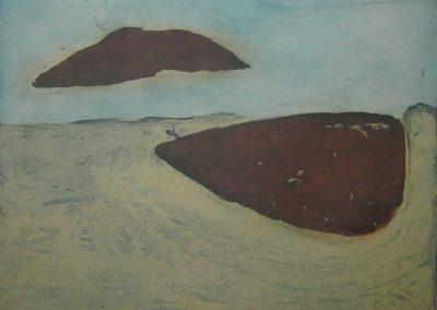 3. Hannah Parker, Landscape, Etching Chine Colle, 2013sm
